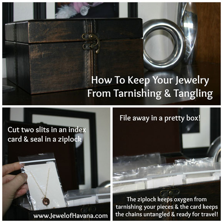 How to Keep Jewelry Clean and Ready for Travel