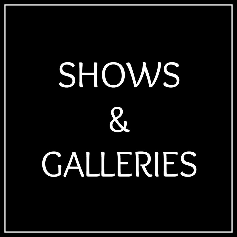 Find Us at Shows and Galleries