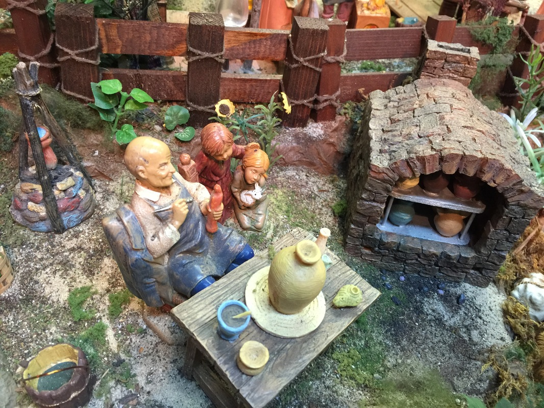 The Clay Artist with His Kiln