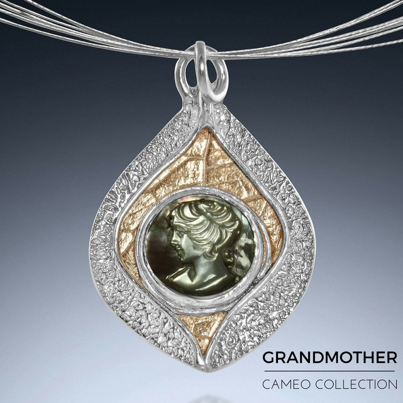 Gift for Grandmother - Cameo Necklace