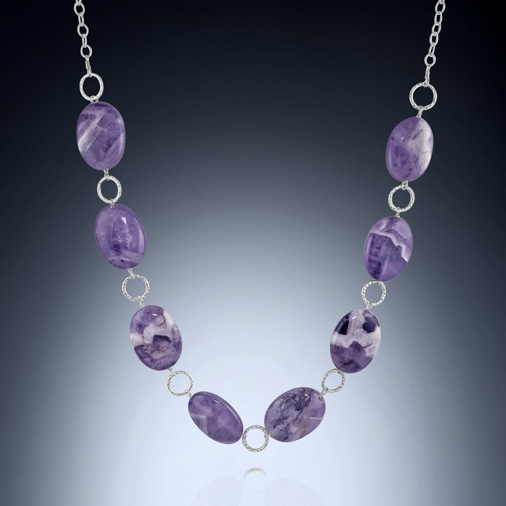 Cape Amethyst Long Necklace