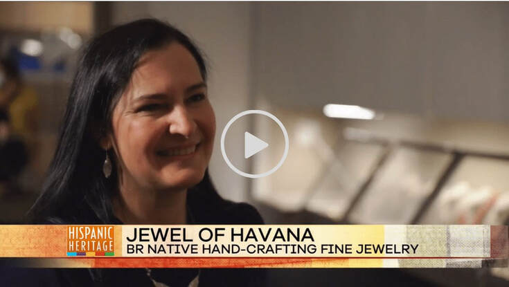 National Hispanic Heritage Month Special  - Ana Maria Andricain - Jewel of Havana on BRProud