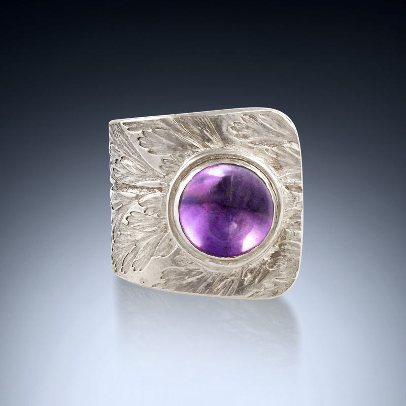Amethyst Wrap Ring