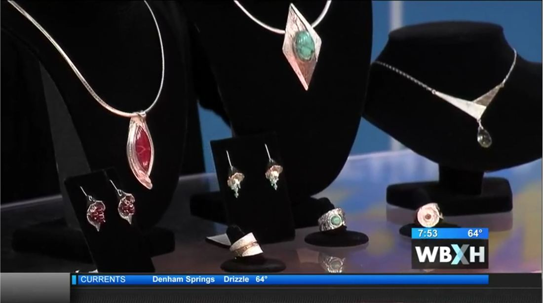 Jewel of Havana on WAFB Channel 9 - Covington Three Rivers Arts Festival