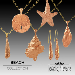 Copper Beach Jewelry Collection