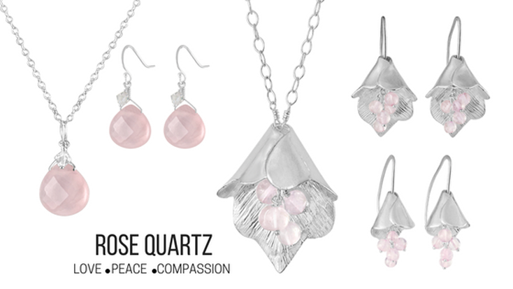 Rose Quartz Jewelry - The Stone of Unconditional Love